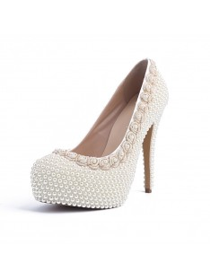 Heel Platform Wedding Shoes S5MA04134LF