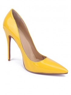 Yellow Heel Party Shoes S5MA0413LF
