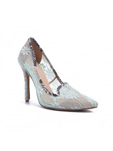 Heel Lace Party Shoes S5MA04143LF