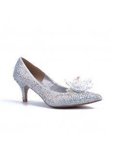 Cone Heel Wedding Shoes S5MA04146LF