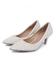 Cone Heel Wedding Shoes S5MA0431LF