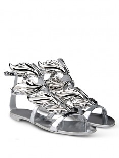 Silver Casual Sandal Shoes S5MA0495LF