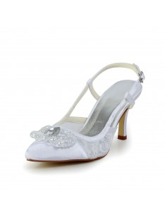 Cone Heel Wedding Shoes S5A3118