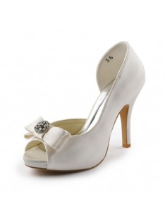Heel Platform Wedding Shoes S23704C