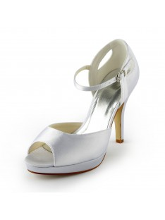 Heel Platform Sandals Wedding Shoes S137038