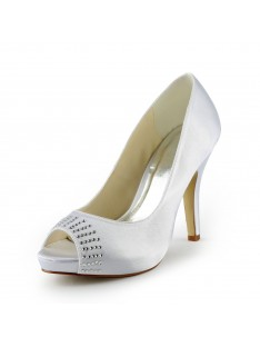 Heel Platform Wedding Shoes S137031