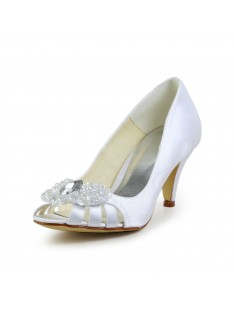 Cone Heel Sandals Wedding Shoes S4594941A