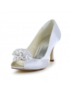 Heel Wedding Shoes Flower S4A31B12A