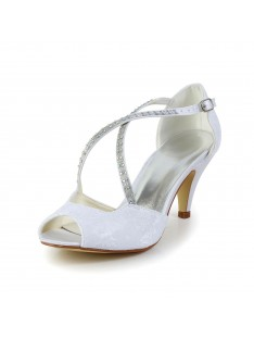 bbf59640dd3311 Cone Heel Sandals Wedding Shoes S5594948