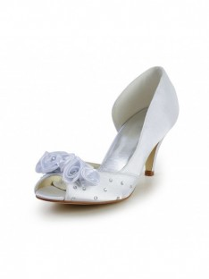 Cone Heel Wedding Shoes S5594943A