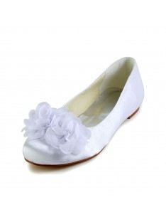 Flats Wedding Shoes Flower S45371A