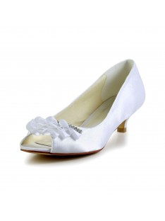 Kitten Heel Sandals Wedding Shoes S40113