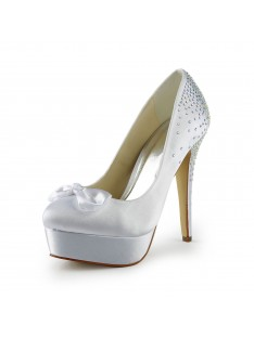 Heel Platform Wedding Shoes S120113B