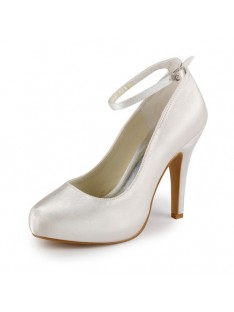 Heel Platform Wedding Shoes S23709