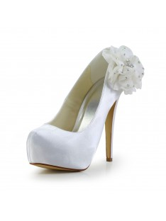 Heel Platform Wedding Shoes S12018