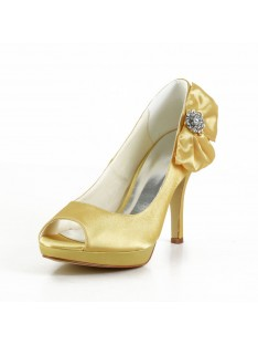 Heel Platform Wedding Shoes S43708A