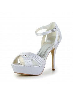 Heel Platform Sandals Wedding Shoes S41291