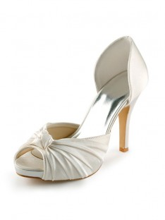 Heel Platform Pumps Wedding Shoes S237040