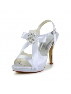 Heel Platform Sandals Wedding Shoes S437048