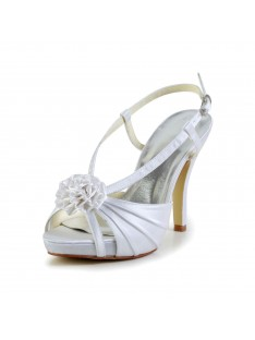 Heel Platform Wedding Shoes S437047