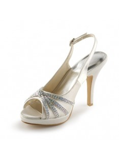 Heel Platform Wedding Shoes S23702