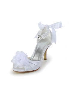 Heel Wedding Shoes Imitation Pearl S583906