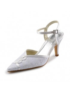 Sandals Stitching Lace Wedding Shoes S23734