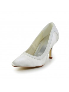 Simple Heel Wedding Shoes S5A3116