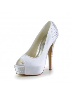 Heel Platform Wedding Shoes S120110