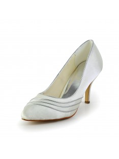 Simple Heel Pumps Wedding Shoes S58390B4