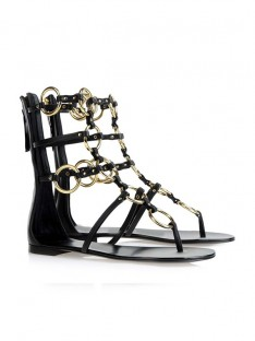 Chain Sandal Shoes SLSDN1438LF