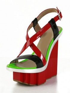 Platform Wedge Heel Shoes SMA02670LF