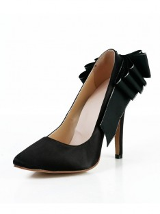 Heel Silk Dress Shoes SMA03040LF