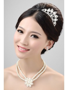 Wedding Headpieces Necklaces Earrings Set ZDRESS4002