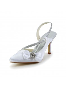 Spool Heel Wedding Shoes S5A3121