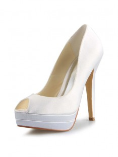 Heel Platform Wedding Shoes SW0409181I