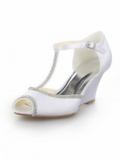 Wedge Heel Wedding Shoes SW115121751I