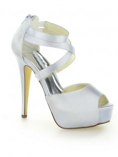 Platform Heel Wedding Shoes SW115201231I
