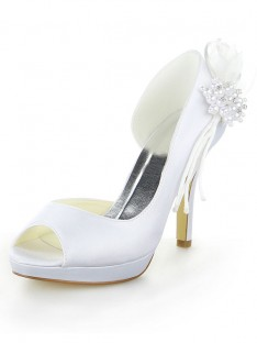 Platform Heel Wedding Shoes SW11537041I
