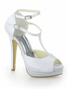 Heel Platform Wedding Shoes SW115409201I
