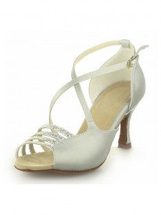 Spool Heel Wedding Shoes SW116Y205101I