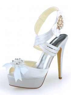 Platform Heel Wedding Shoes SW120121A1I